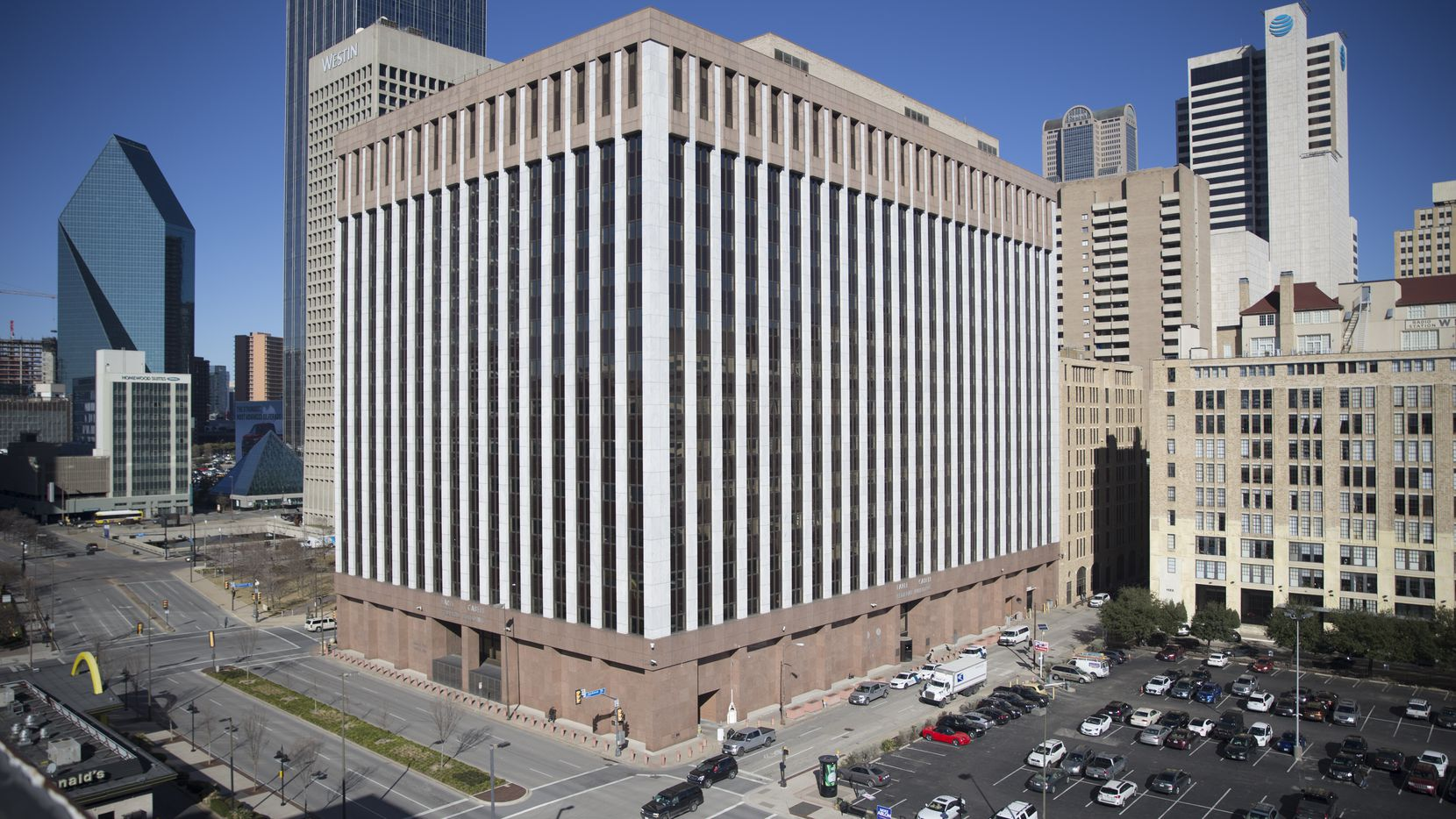 The Earle Cabell Federal Building, a U.S. federal courthouse that is home to the U.S. District Courts, in Dallas on Tuesday, January 23, 2019.
