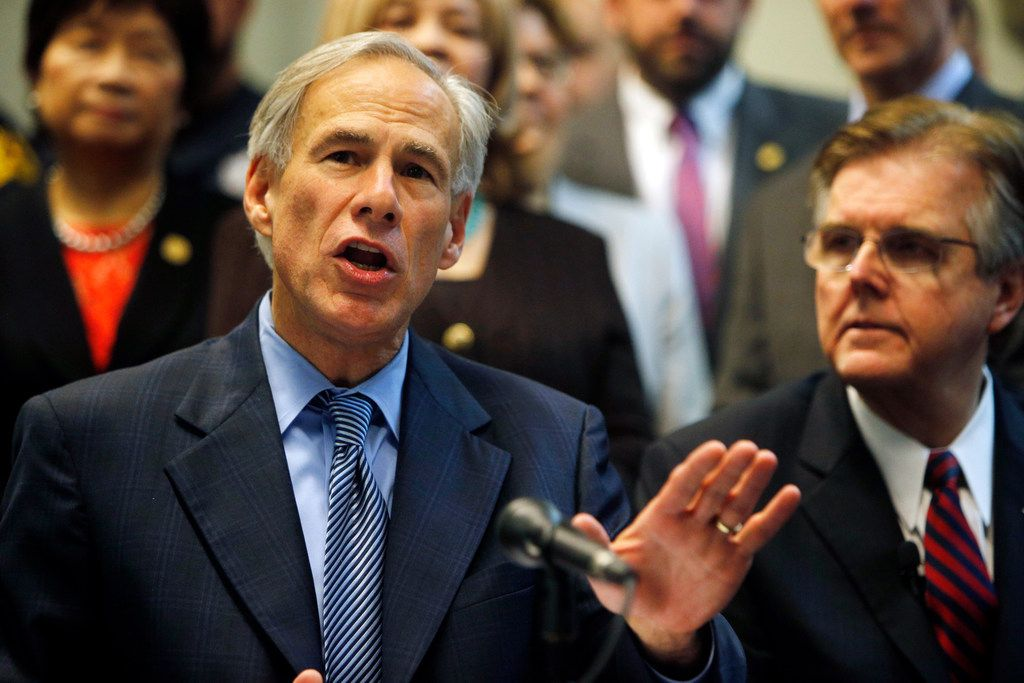 Texas Gov. Greg Abbott's tax reform plan would cap the annual revenue growth of cities, school districts, counties and other local taxing jurisdictions.