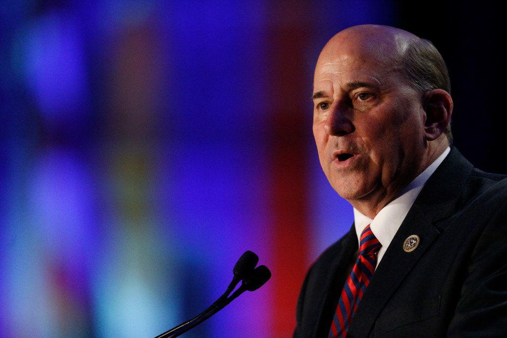 Rep. Louie Gohmert says Arizona voters should oust Sen. John McCain through a recall election. (Nathan Hunsinger/Staff Photographer)