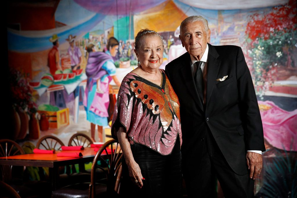 Anita Martinez says her husband, Alfred Martinez, was surprised that she'd want to take on the extra work of City Council. The couple is shown  at El Fenix restaurant No. 1 , celebrating its 100th anniversary.