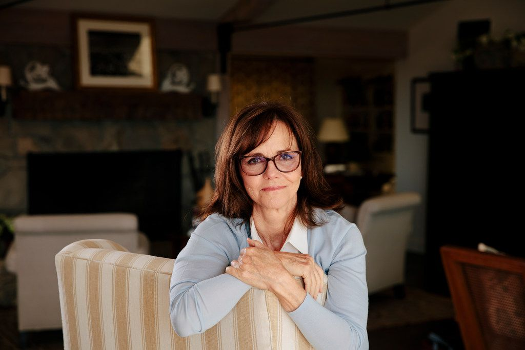 Sally Field at home in Pacific Palisades, Calif., Aug. 29, 2018.  (Brinson+Banks/The New York Times)