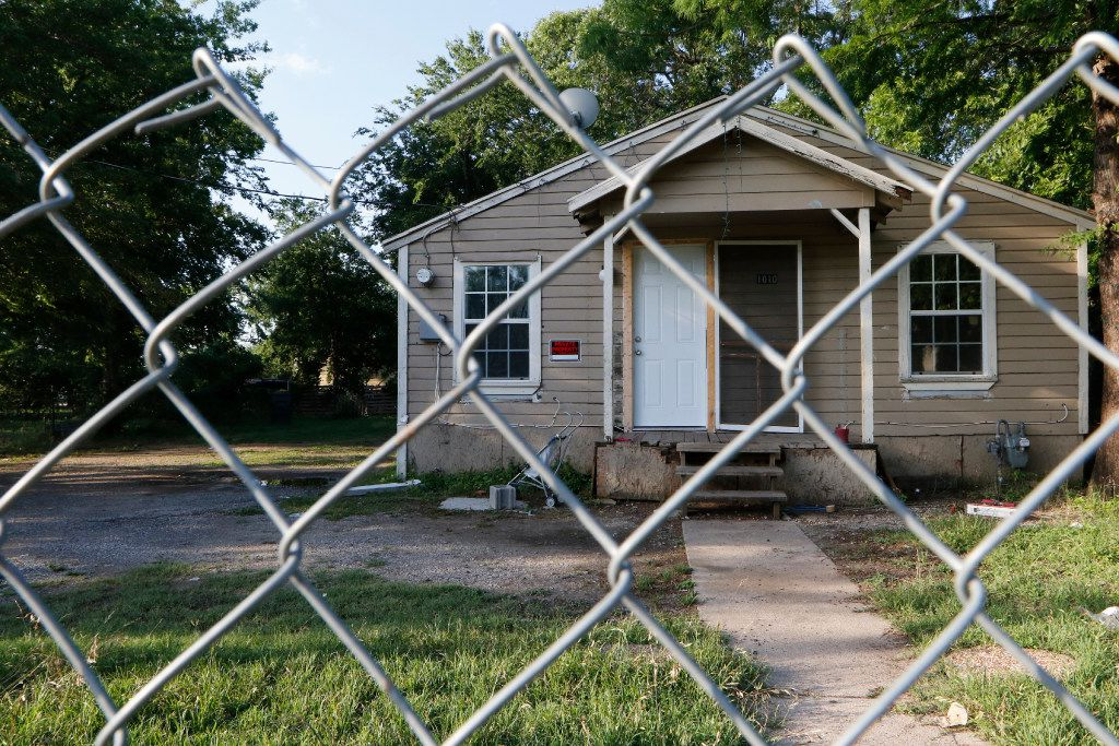 Vacant houses and scraped lots owned by HMK can now be found in West Dallas. HMK sold some homes for $65,000, but other tenants found new rentals.