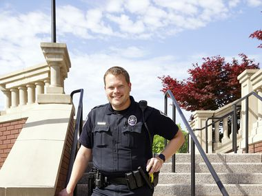Southlake Public Safety Officer Brad Uptmore is taking his department to greater heights of public awareness with an award-winning social media campaign.