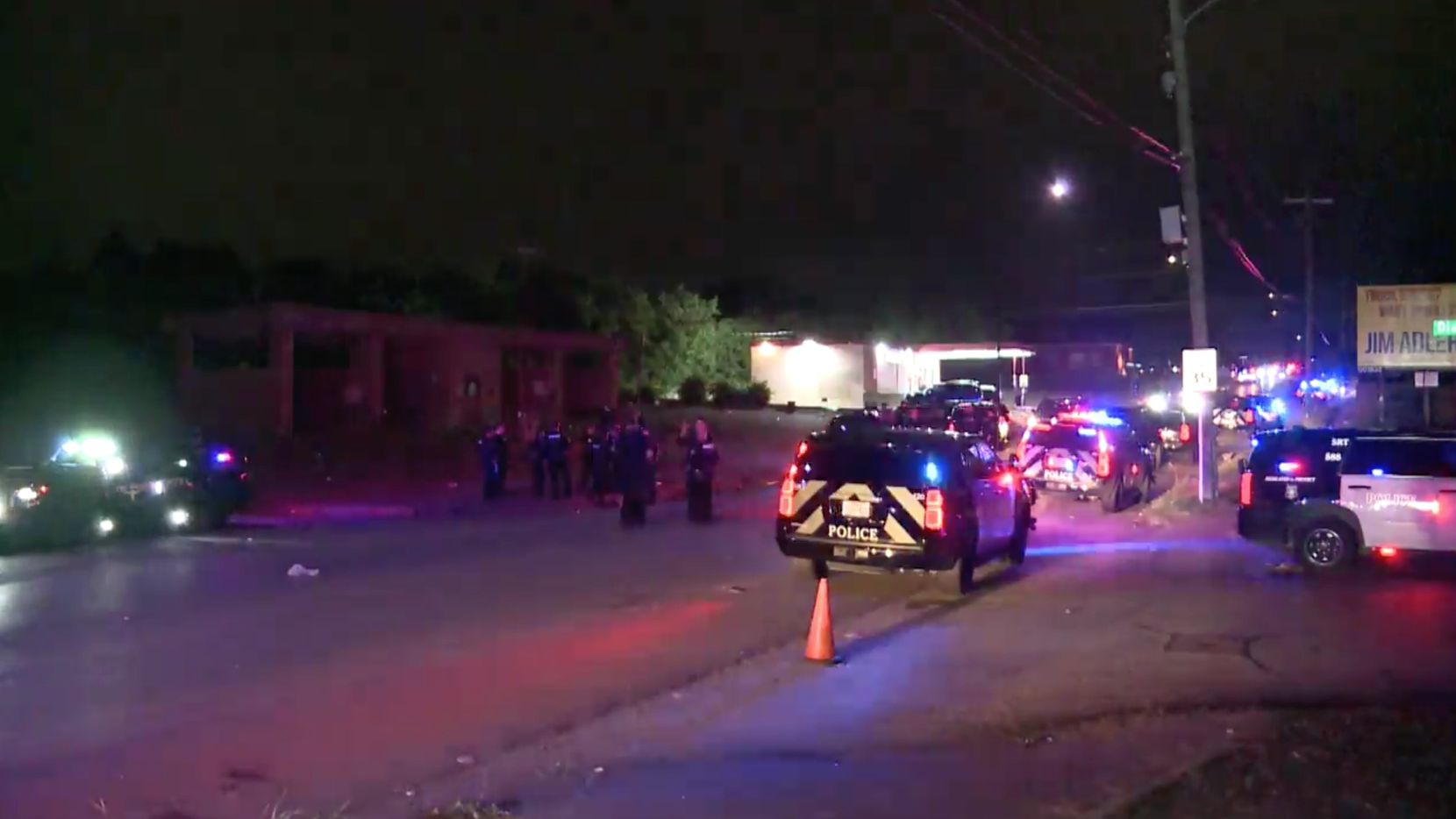 Eight people were wounded in a shooting at a Fort Worth car wash 3400 block of Horne Street, southwest of downtown Fort Worth, around 1:30 a.m. on July 4, 2021.