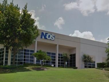 Pharmaceutical company Neos Therapeutics' 80,000-square-foot facility in Grand Prairie.