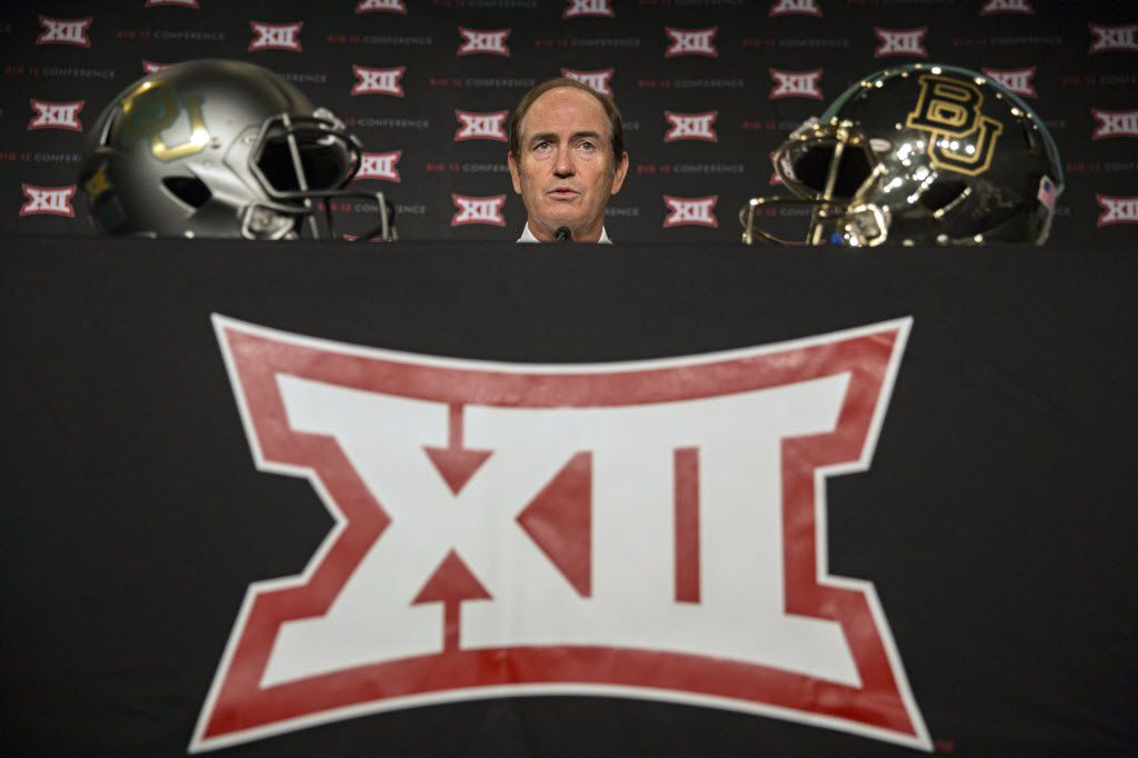 Baylor head coach Art Briles speaks during the 2015 Big 12 Conference Football Media Days Tuesday, July 21, 2015 in Dallas. (G.J. McCarthy/The Dallas Morning News) 07222015xSPORTS