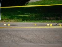 Police investigate the scene where a brief car chase ended in Dallas police officers shooting and injuring a man suspected in a homicide committed earlier in the day on Sept. 4, 2020, in Mesquite.