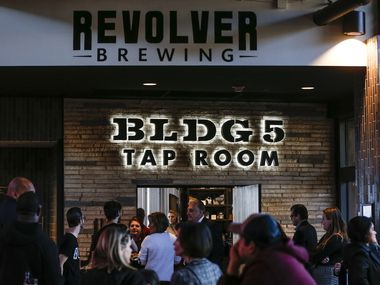 Revolver Brewing BLDG 5 is a new working brewery at Texas Live.