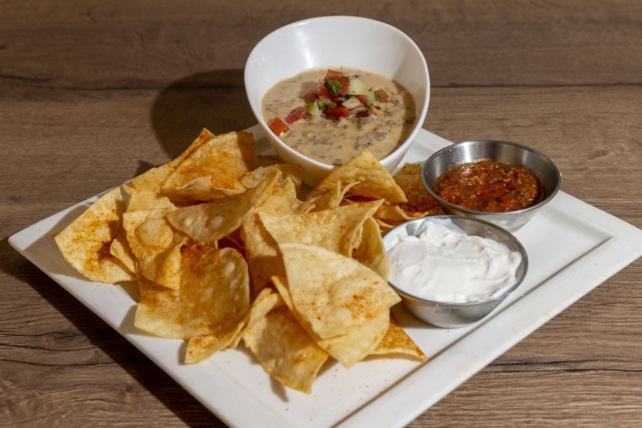 Don't freak out: This is ostrich queso.