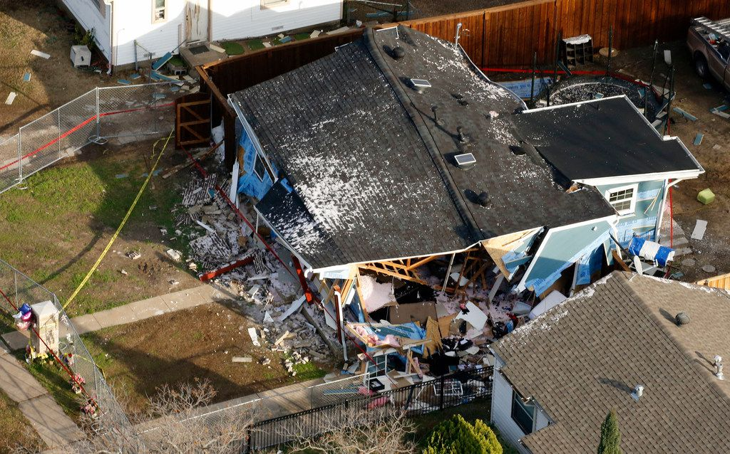 The Rogers family's home was devastated by a gas explosion last February.