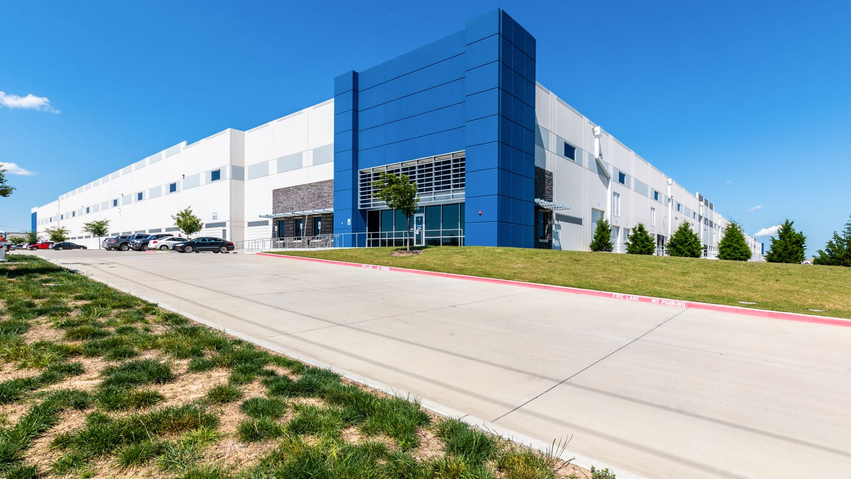 One of Transwestern Development's new North Texas industrial projects is the Park 20/360 business park in Arlington.