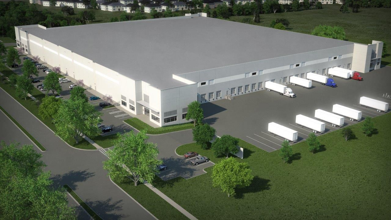 Stream Realty's new Parkway Logistics Center will open later this year in Grand Prairie.