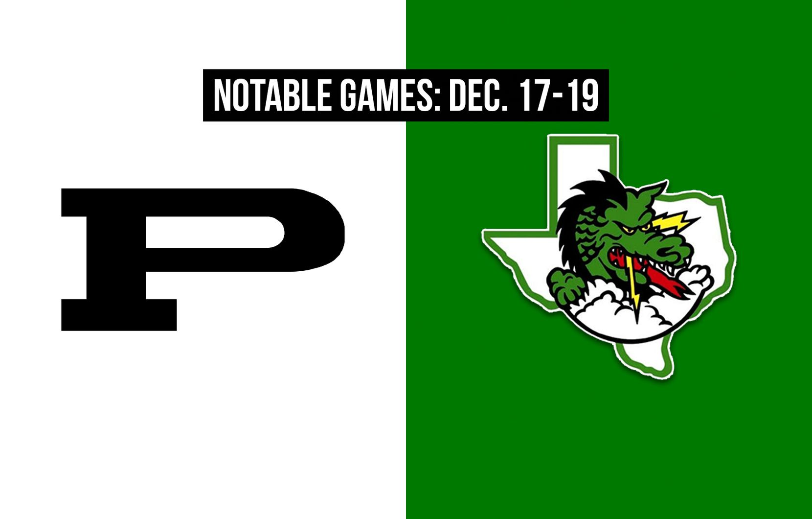 Notable games for the week of Dec. 17-19 of the 2020 season: Odessa Permian vs. Southlake Carroll.