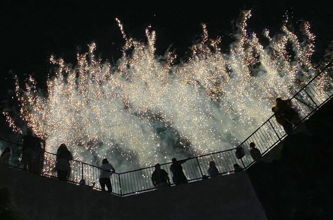 FC Dallas fans enjoyed a post-match fireworks show following a 1-1 draw between FC Dallas and Minnesota United. The two teams played their MLS match at Toyota Stadium in Frisco on June 19, 2021. (Steve Hamm/ Special Contributor)