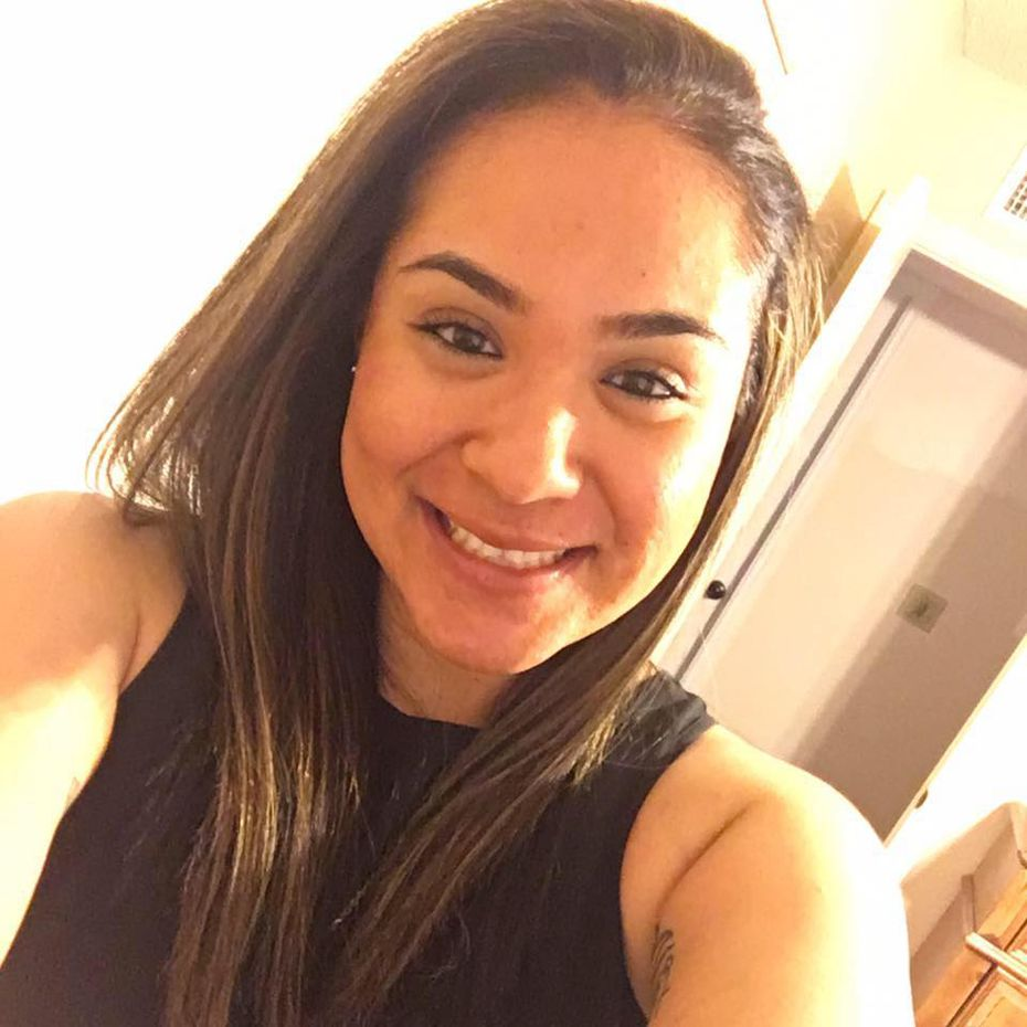 Crystal Almeida was badly wounded in Tuesday's shooting but is recovering.