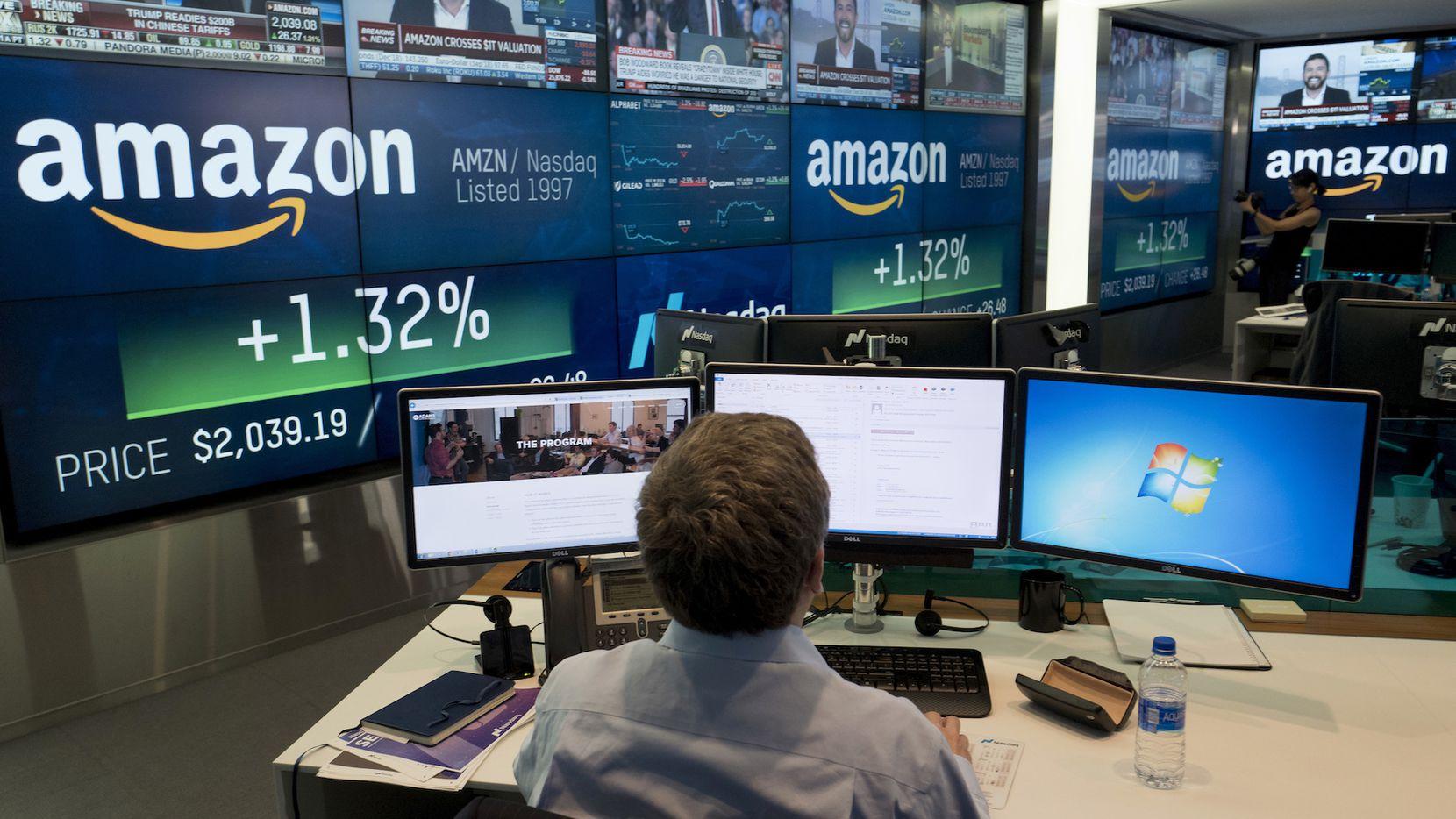 Amazon es la compañía de ventas más grande del mundo. AP