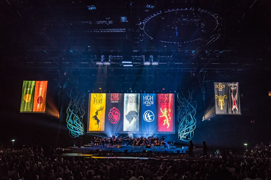 The Game of Thrones Live Concert Experience features music from all seasons of the series — with a great deal coming from the musically magnificent final season. (Ralph Larmann/BB Gun Press)