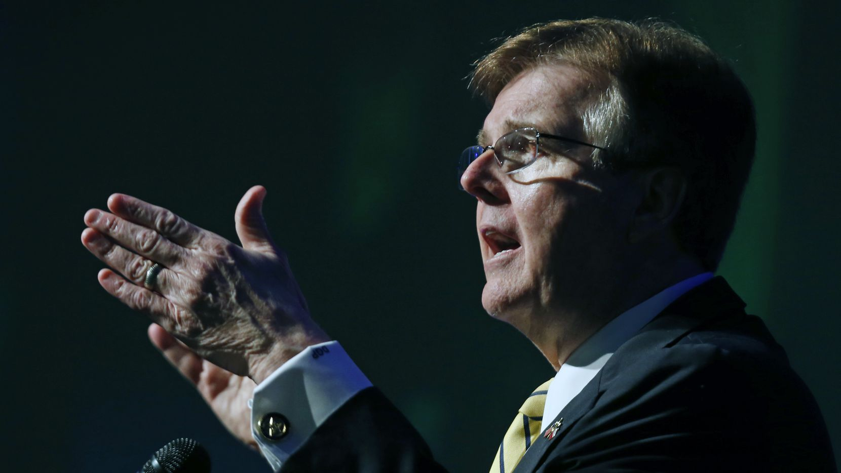 Lt. Gov. Dan Patrick has received more than $880,000 since 2012 from GOP megadonor group Empower Texans, far more than it has given any other candidate.