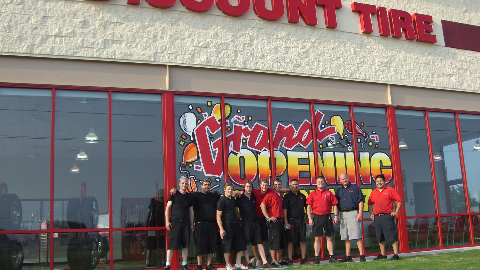 Discount Tire has more than a dozen locations in North Texas.