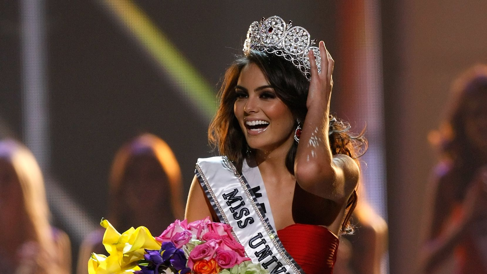 La mexicana Jimena Navarrete fue consagrada Miss Universo en el concurso de belleza de 2010.