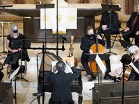 "Dallas Bach Society performs Handel's ""La resurrezione"" at Zion Lutheran Church in Dallas on April 17."