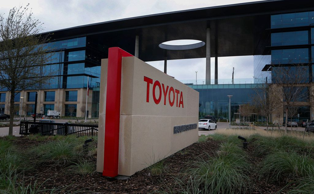 Toyota, which won $40 million in incentives from the state, has already hit its targets for hiring and investment at its Plano headquarters -- and then some. (Nathan Hunsinger/The Dallas Morning News)