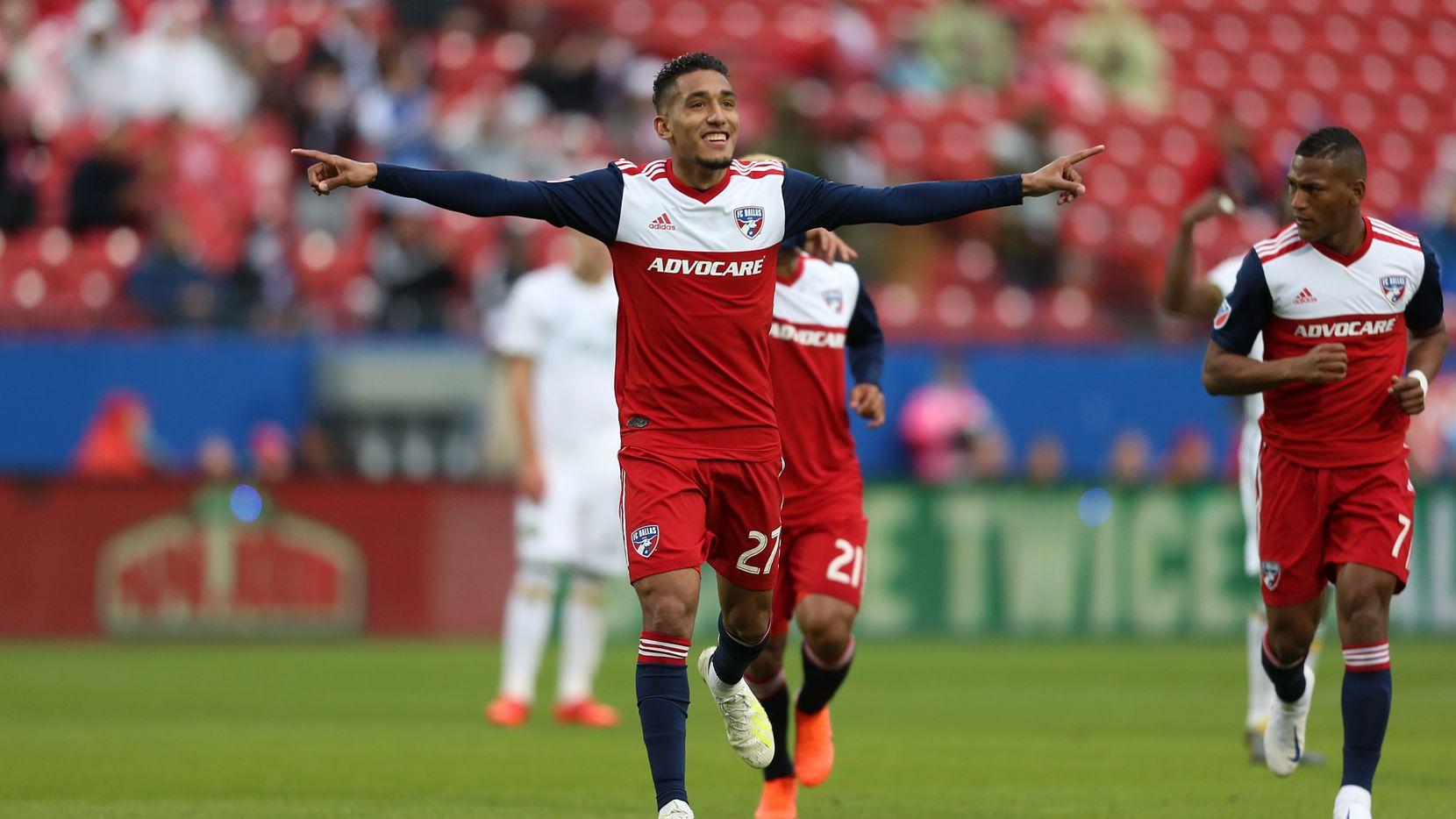 Jesús Ferreira, con 8 goles en la temporada 2019, fue el máximo anotador de FC Dallas en la MLS.