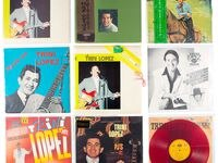 Trini López memorabilia is bound for auction at Dallas' Heritage Auctions. These albums are from the singer's personal collection.