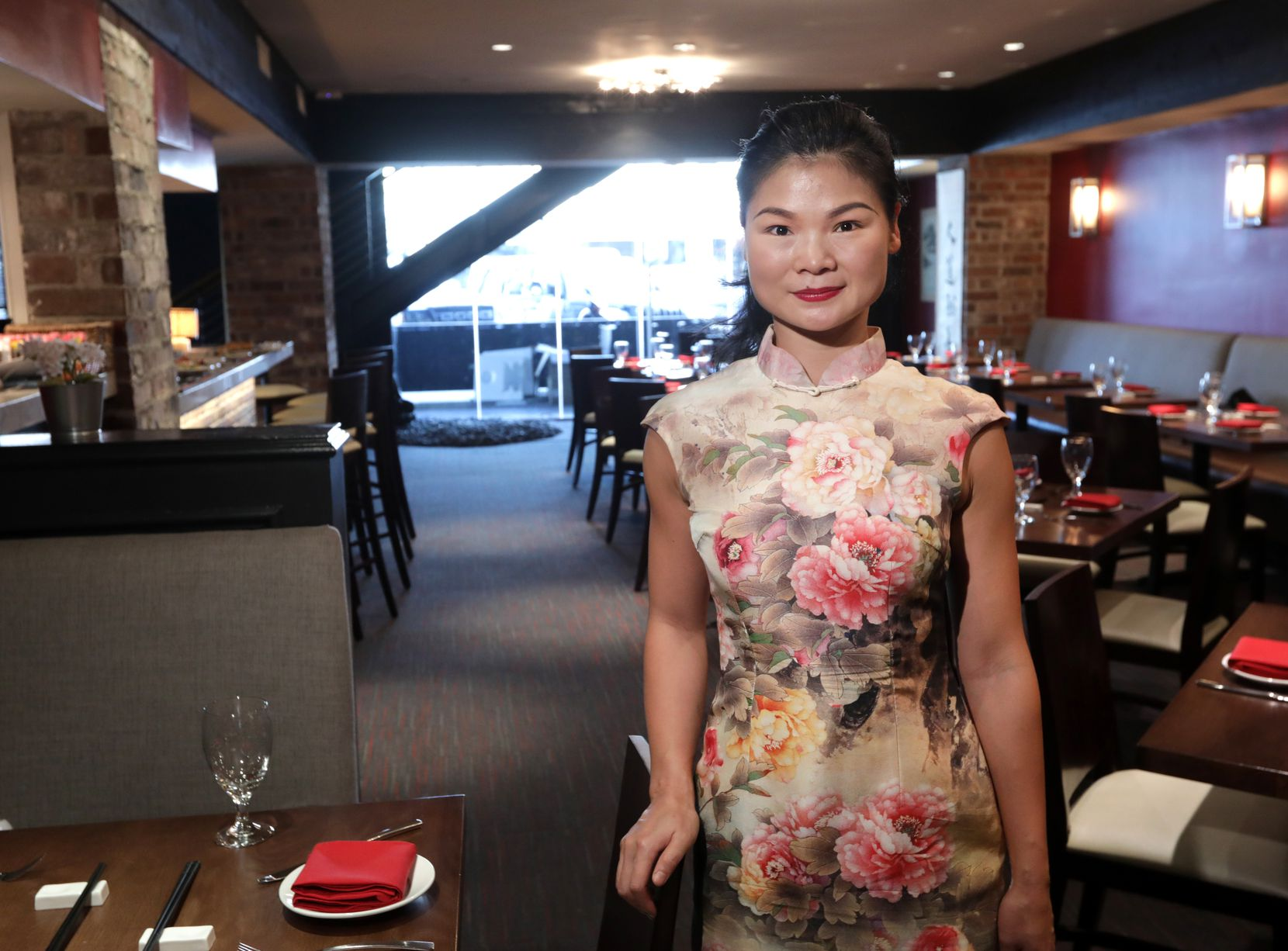 Jia Huang photographed at Jia Modern Chinese in Dallas, TX, on Sep. 17, 2019. (Jason Janik/Special Contributor)