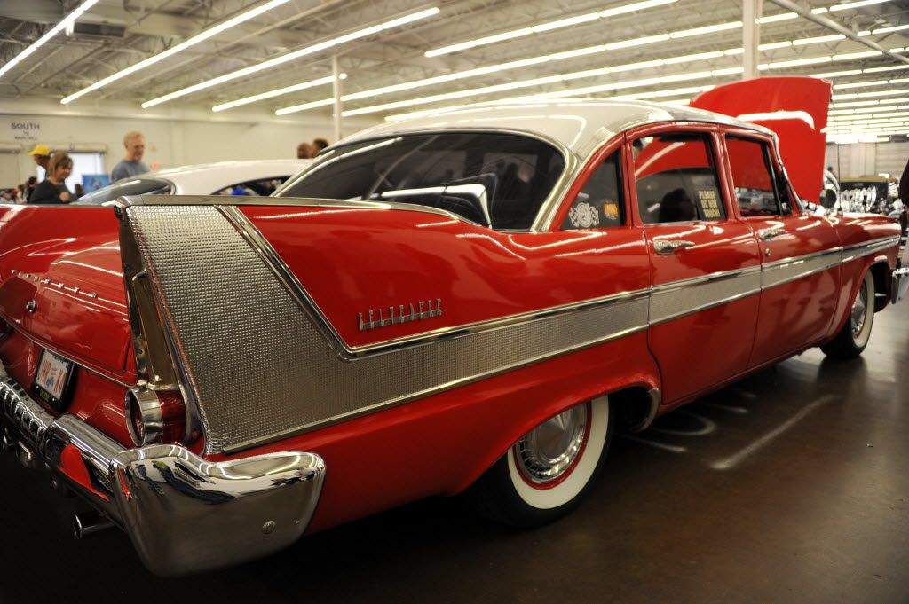 Autorama wheels fin-tastic classics, like a 1958 Plymouth Belvedere, and more at Dallas Market Hall.