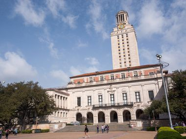 """The University of Texas at Austin's alma mater — which is sung the tune of """"I've Been Working on the Railroad"""" — was first played in a minstrel show with performers in blackface and connected to a saying from Confederate Army Commander Robert E. Lee."""