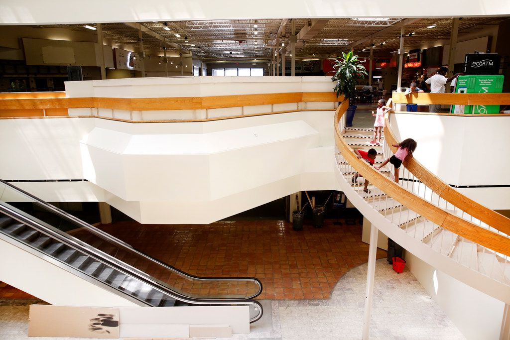 Interior of Southwest Center Mall in Dallas on Tuesday, June 12, 2018. (Rose Baca/The Dallas Morning News)