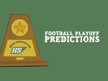 Football playoff predictions.