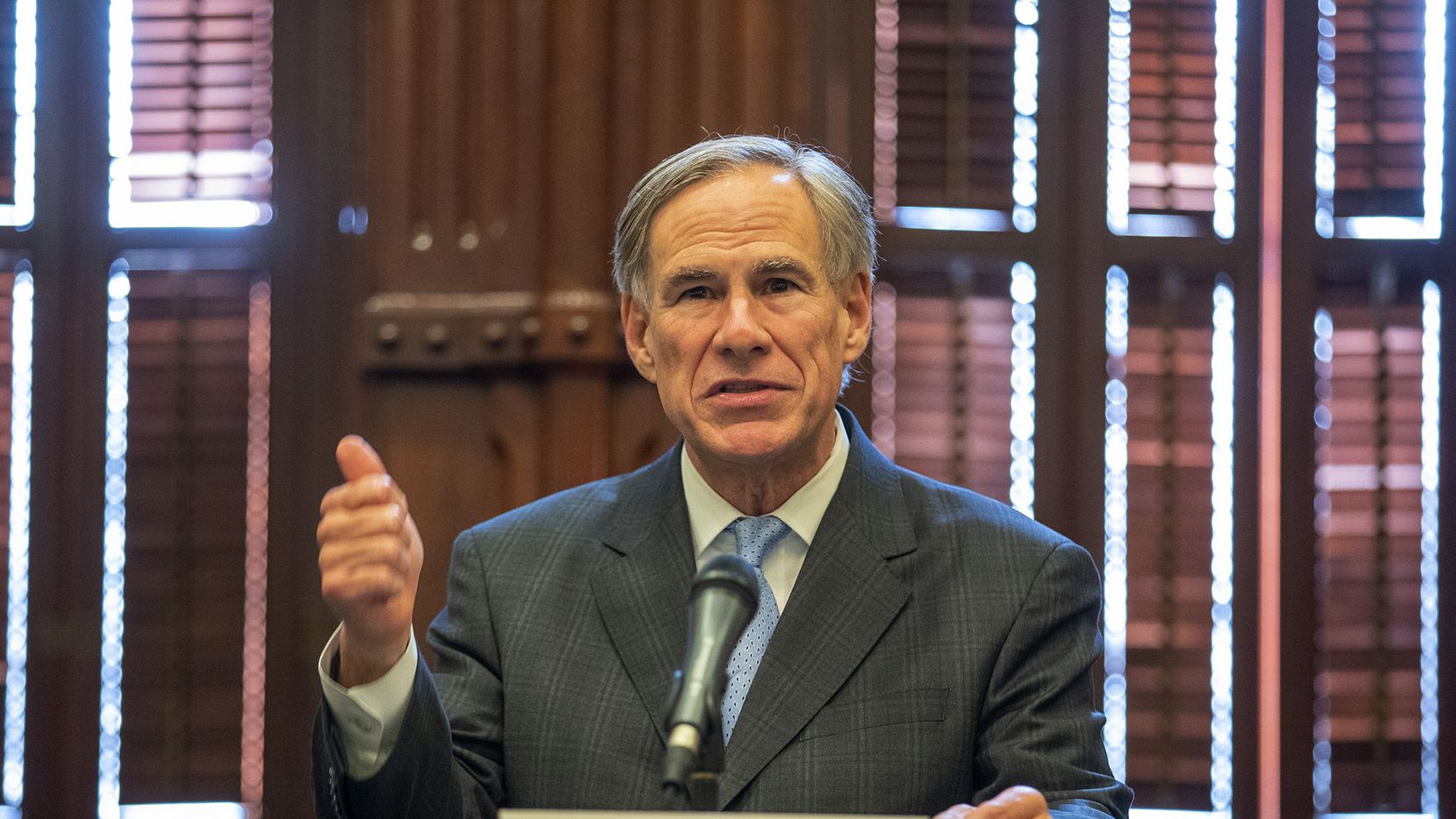 Governor Greg Abbott has the power to create statewide ceremonial proclamations. He should do for International Underground Railroad Month. (Ricardo B. Brazziell/Austin American-Statesman via AP)