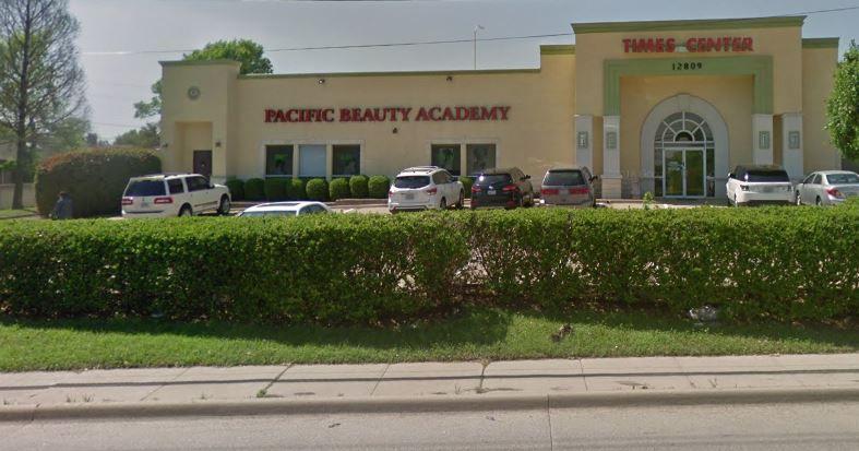 Pacific Beauty Academy School, on Audelia Road in far northeast Dallas, was shut down last month.