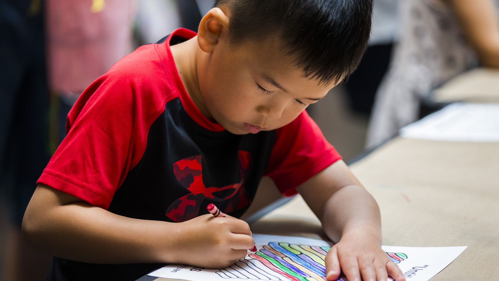 ArtRocks at NorthPark Center celebrates Lunar New Year with children's art projects.