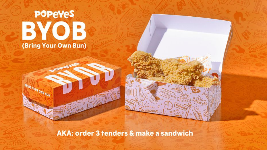 Can't get a Popeyes chicken sandwich? Make your own. No, really.