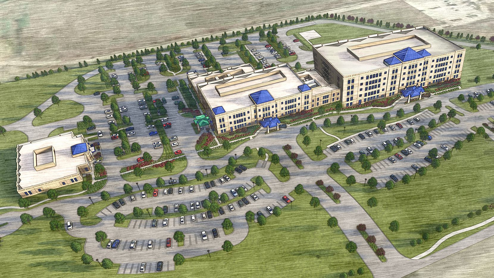 Cook Children's Health Care System's planned hospital is in the Windsong Ranch development on U.S. Highway 380.