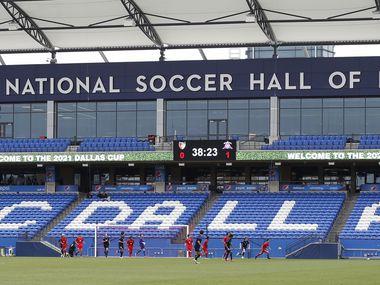 El Toyota Stadium de Frisco está listo para recibir a 8,500 aficionados para el juego entre el FC Dallas y el Rapids de Colorado.