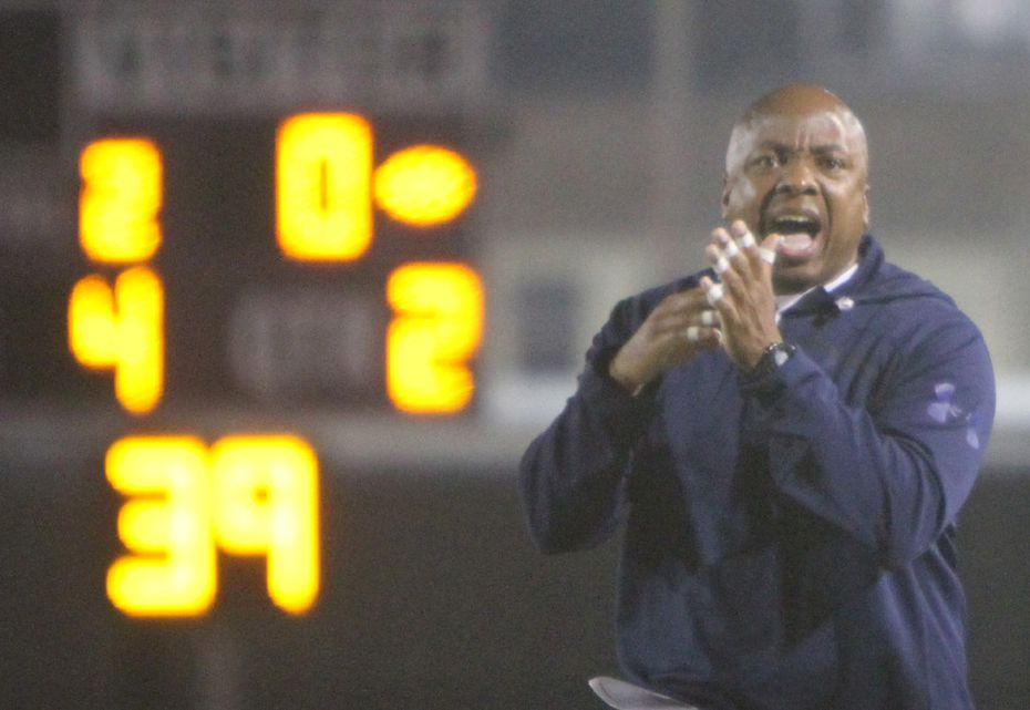Dallas Kimball head coach Henry Cofer worries that young coaches were scared off from the profession over the past year.