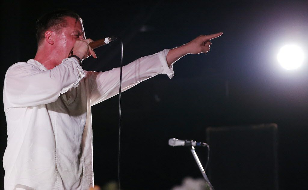 Lead vocalist Mike Patton and Faith No More performed at South Side Ballroom on Monday, July 27, 2015.