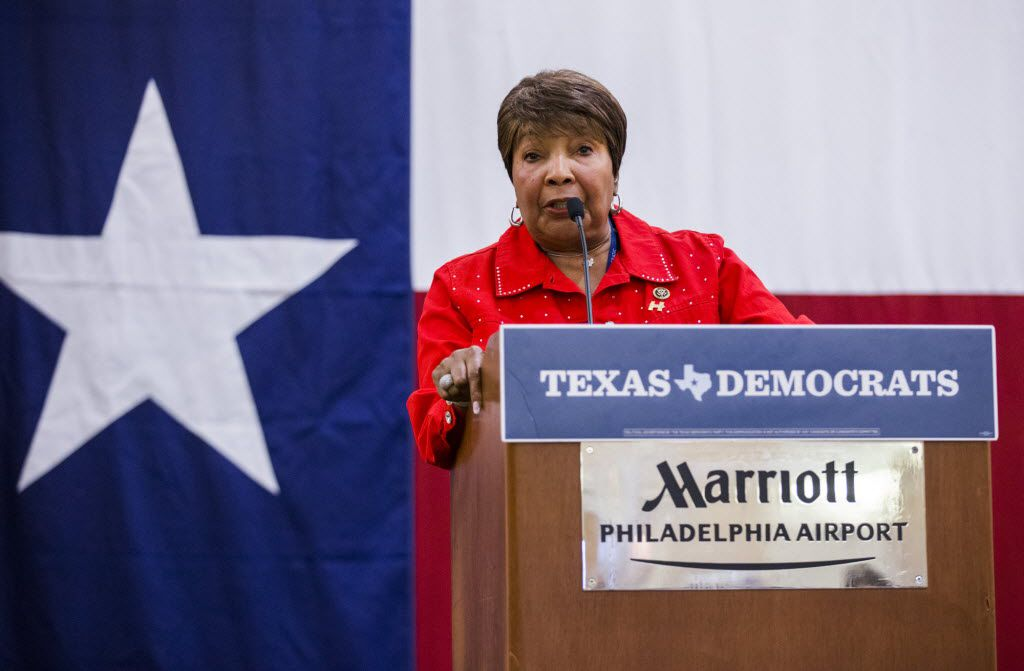 U.S. Representative Eddie Bernice Johnson hosted a climate change round table on the same day Energy Secretary Rick Perry appeared before a House appropriations subcommittee.