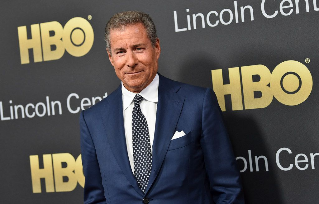 FILE - This May 29, 2018 file photo shows honoree HBO CEO Richard Plepler attending the Lincoln Center for the Performing Arts American Songbook Gala at Alice Tully Hall on in New York. HBO's longtime chief executive is leaving the cable channel, less than a year after AT&T acquired HBO's parent company. In a memo to HBO staffers Thursday, Feb. 28, 2019, Plepler said it was the right time for him to leave.  (Photo by Evan Agostini/Invision/AP, File)