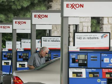 The largest share of Exxon Mobil's reductions will occur in the Permian Basin of West Texas and New Mexico, where it will cut back on drilling and fracking,