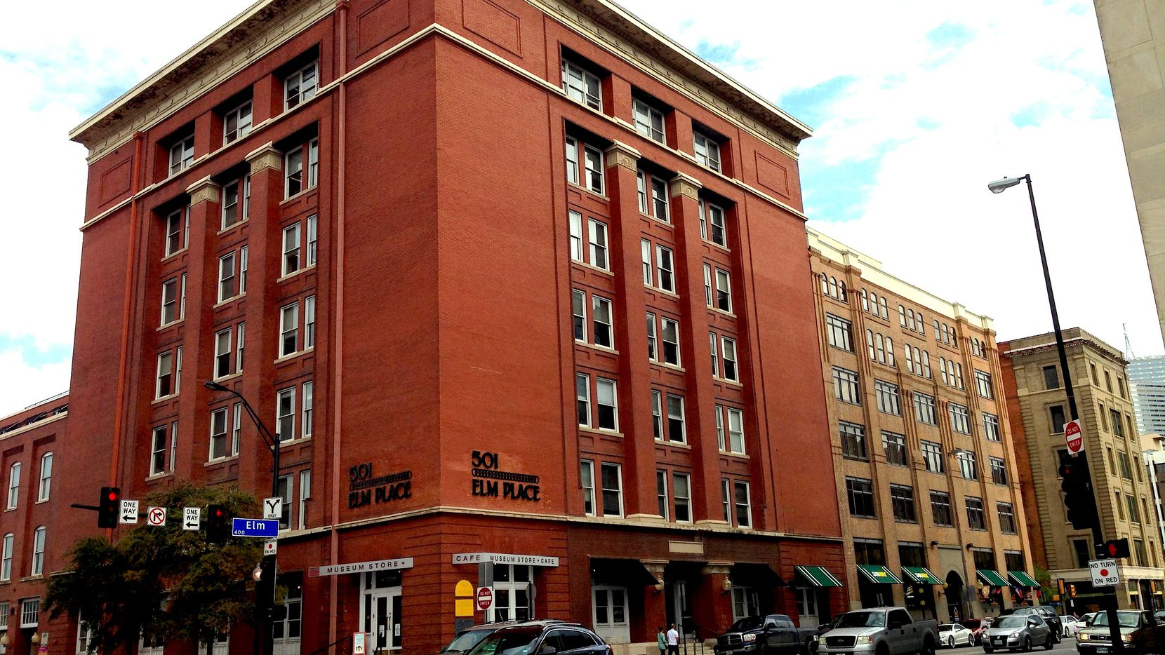 Built in 1903, the 501 Elm building once housed the John Deere Plow Co.