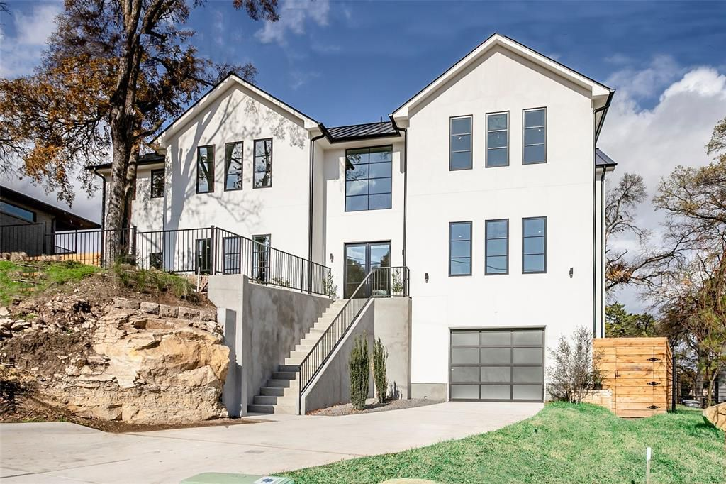 View the new four-story home with elevator at 773 Evergreen Hills Road in North Oak Cliff and meet the builder from 2 to 4 p.m. on March 15.