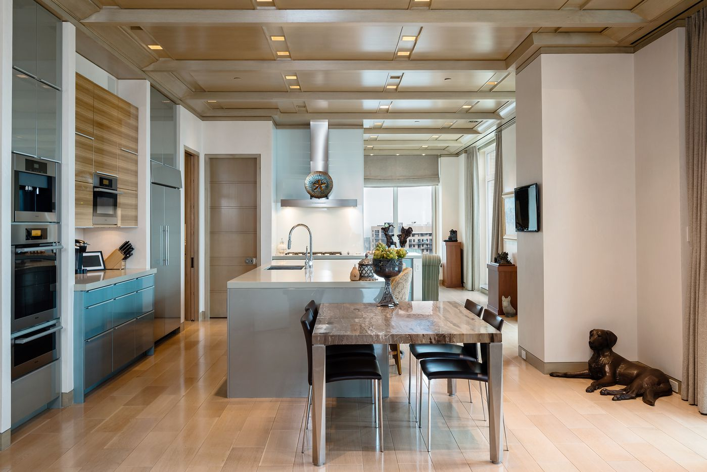Take a look at this penthouse condo at The Ritz-Carlton Residences. The home at 2555 N. Pearl St. No. 2200 is listed for $10,900,000.