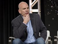 David Simon speaks in Pasadena, Calif. during a press tour last year. Simon spoke out Monday against the new Texas abortion law, the most restrictive in the country.