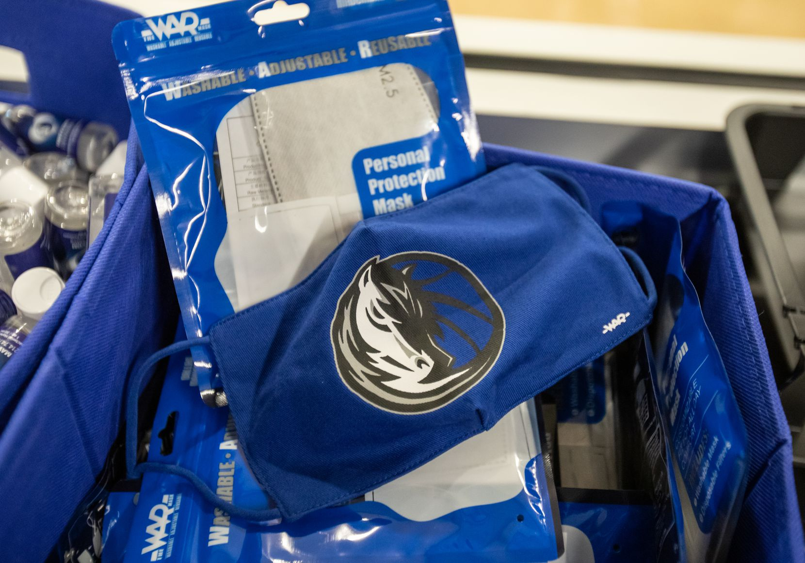 The Mavs pledged a $1 million PPE donation to cover every student, teacher and staff member in the Dallas ISD. These donations consist of reusable masks, face shields, hand sanitizer pumps, personal hand sanitizer units and antiviral wipes for classrooms.