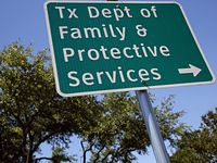 """Gov. Greg Abbott has distanced himself from a recent claim by two Texas child welfare officials that maltreated children who are being bunked in Child Protective Services offices, hotels and churches are exempt from a federal judge's orders. Abused and neglected children in state care """"should receive the same protections,"""" whether or not they're housed in a licensed facility, Abbott's lawyer wrote."""